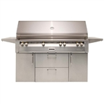 "ALFRESCO 56"" Freestanding Grill with Sear Zone and Rot (ALXE-56BFGC)"