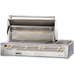 "ALFRESCO 56"" Built-in Grill with Sear Zone, Rot and Side Burner (ALXE-56SZ)"