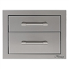"ALFRESCO 17"" Double Drawers (AXE-2DR-SC)"