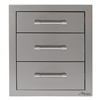 "ALFRESCO 17"" Triple Drawers (AXE-3DR-SC)"
