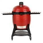 "Kamado Joe Big Joe III 24"" Red Kamado Grill (BJ24RHCI-A)"