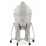 "BLAZE 20"" Cast Aluminum Kamado with Stainless Steel Cart (BLZ-20-KAMADOCART1)"