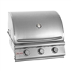 "BLAZE 3-Burner 25"" Built-in Grill (BLZ-3)"