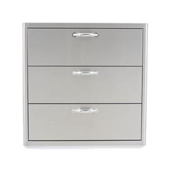 "BLAZE 30"" Triple Access Drawer (BLZ-30W-3DRW)"