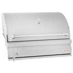 "BLAZE 32"" Built-in Charcoal Grill with Adjustable Tray (BLZ-4-CHAR)"