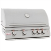 "BLAZE 4-Burner 32"" Built-in Grill with Rear Burner and Lighting (BLZ-4LTE2)"