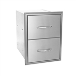 "BLAZE 16"" Double Access Drawer (BLZ-DRW2-R)"