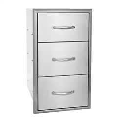 "BLAZE 16"" Triple Access Drawer (BLZ-DRW3-R)"