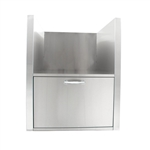 BLAZE Kamado Island Sleeve with Drawer (BLZ-KMDO-SLV)
