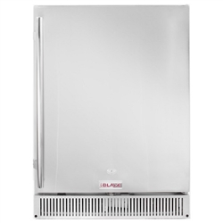 "BLAZE Outdoor Rated Stainless 24"" Refrigerator 5.2 CU (BLZ-SSRF-50DH)"