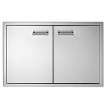 "DELTA HEAT 30"" Double Access Doors (DHAD30-C)"