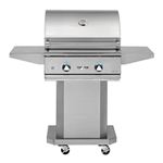 "DELTA HEAT 26"" Cart Grill with 2 SS Burners (DHBQ26G-D-CART)"