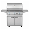 "DELTA HEAT 32"" Cart Grill with 3 SS Burners (DHBQ32G-D-CART)"