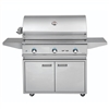 "DELTA HEAT 38"" Cart Grill with 3 SS Burners (DHBQ38G-D-CART)"