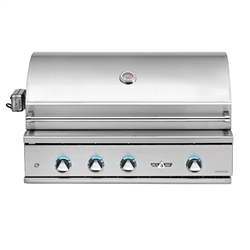 "DELTA HEAT 38"" Grill with 3 SS Burners and Rotisserie (DHBQ38R-D)"