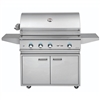 "DELTA HEAT 38"" Cart Grill with Sear Zone and Rot (DHBQ38RS-D-CART)"