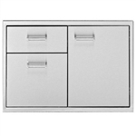 "DELTA HEAT 30"" Door / 2-Drawer Combo (DHDD302-B)"