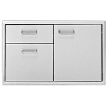 "DELTA HEAT 36"" Door / 2-Drawer Combo (DHDD362-B)"