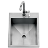 "DELTA HEAT 15"" Outdoor Sink w/Cold Faucet (DHOS15)"