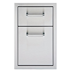 "DELTA HEAT 13"" Double Drawer (DHSD132-B)"