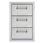 "DELTA HEAT 13"" Triple Drawer (DHSD133-B)"