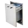 "DELTA HEAT 18"" Slide-out Double Trash Drawer (DHTD182T-B)"