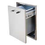 "DELTA HEAT 18"" Slide-out Trash Drawer (DHTD18T-B)"