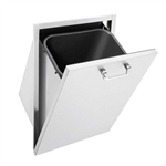 "SEDONA by Lynx 18"" Tilt-Out Outdoor Trash Center (L18TC)"