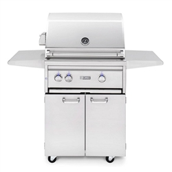 "LYNX 27"" Freestanding Grill with 1 Ceramic Burner, 1 Trident Burner and Rotisserie (L27TRF)"