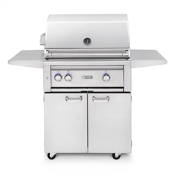 "LYNX 30"" Freestanding Grill with 1 Ceramic Burner, 1 Trident Burner and Rotisserie (L30TRF)"