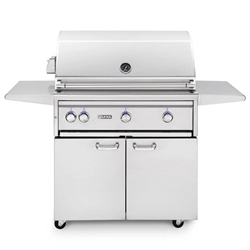 "LYNX 36"" Freestanding Grill All-Sear, 3 Trident Burners and Rotisserie (L36ATRF)"
