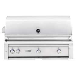 "Lynx 42"" Built-in Gas Grill w/Trident Burner, Two Ceramic Burners and Rotisserie (L42TR)"