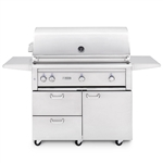 "LYNX 42"" Freestanding Grill with 2 Ceramic Burners, 1 Trident Burner and Rotisserie (L42TRF)"