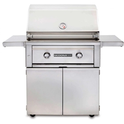 "SEDONA by Lynx 30"" L500-Series Freestanding Grill with Two Stainless Steel Burners (L500F)"
