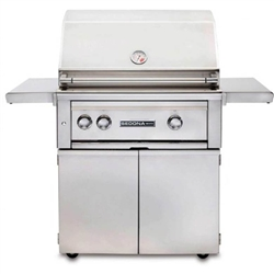 "SEDONA by Lynx 30"" L500 Freestanding Grill with One ProSear1 Burner, One Stainless Steel Burner, Rotisserie and Cart (L500PSFR)"