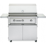 "SEDONA by Lynx 36"" L600-Series Freestanding Grill with Three Stainless Steel Burners (L600F)"