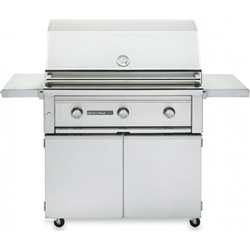 "SEDONA by Lynx 36"" L600-Series Freestanding Grill with One ProSear1 Burner and Two Stainless Steel Burners (L600PSF)"