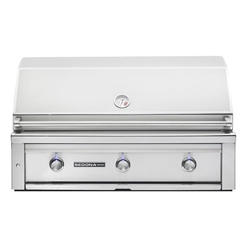 "SEDONA by Lynx L700-Series 42"" Grill with Three Stainless Steel Burners (L700)"