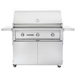 "SEDONA by Lynx 42"" L700-Series Grill with Three Stainless Steel Burners and Cart (L700F)"
