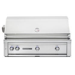 "SEDONA by Lynx 42"" L700-Series Grill with Three Stainless Steel Burners and Rotisserie (L700R)"