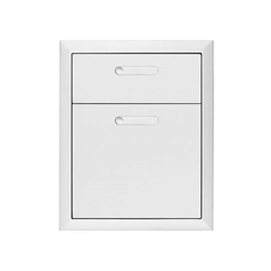 "LYNX Ventana 19"" Double Drawers (LDW19-4)"