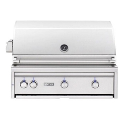 "LYNX 36"" Built-in FLAMETRAK Grill, 3 Trident Burners w/Rot (LF36ATR)"