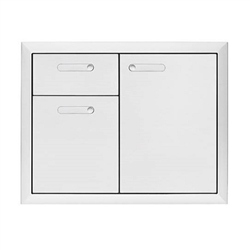 "LYNX Ventana 30"" Storage Door and Double Drawer Combination Unit (LSA30-4)"