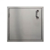 "PCM Stainless Steel 18"" Single Access Door - Left Hinge (PCM-260-18X19L)"