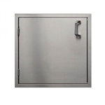 "PCM Stainless Steel 21"" Single Access Door - Left Hinge (PCM-260-21X19L)"