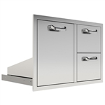 "PCM 30"" Stainless Drawer/Propane Rollout Combo (PCM-260-COMBO30-TR/PRO)"