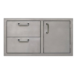 "PCM 36"" Stainless Drawer/Door Combo (PCM-260-COMBO36)"