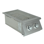 RCS Premier-Series  Slide-in Double Side Burner with Two 12,000 BTU Burners (RJCSSB)