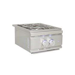 RCS Cutlass Lighted Pro Burner with 60,000 BTU burners - Slide-In (RSB3A)