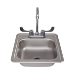 RCS Countertop Sink and Faucet (RSNK1)